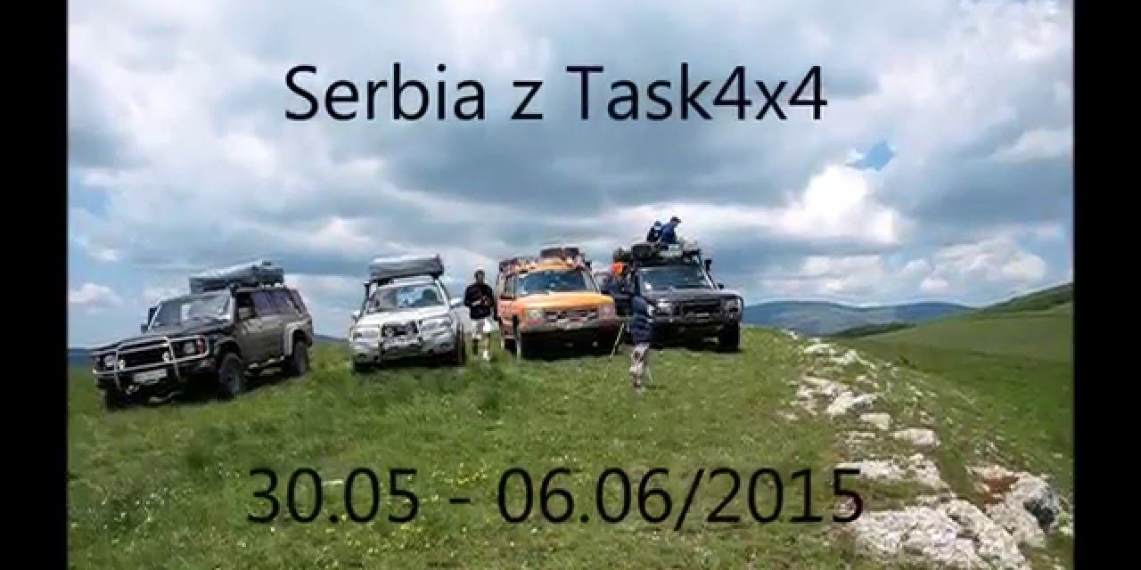 Serbia off-road'owo z Task 4×4