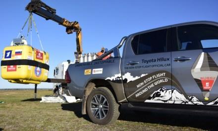 Toyota Hilux pomogła ustanowić balonowy rekord świata