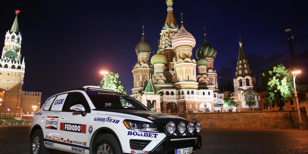 Rekord przejazdu przez Eurazję – nowa próba