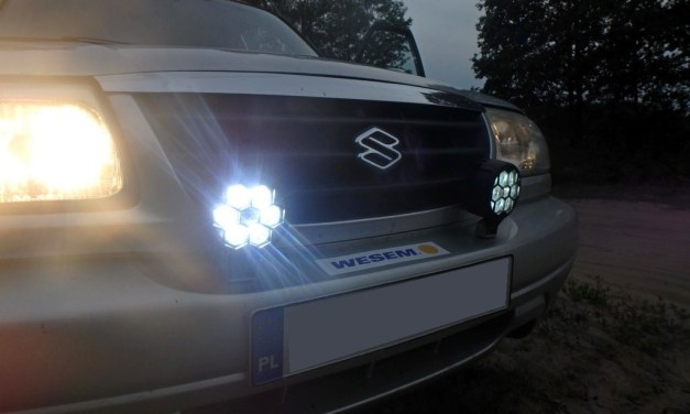 WESEM CDC3 – lampy do off-road'u – Made in Poland – TEST