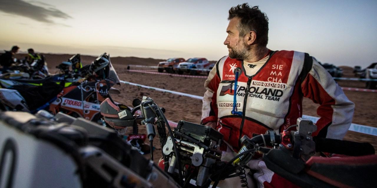 Rafał Sonik z numerem zwycięzcy na Dakar 2017