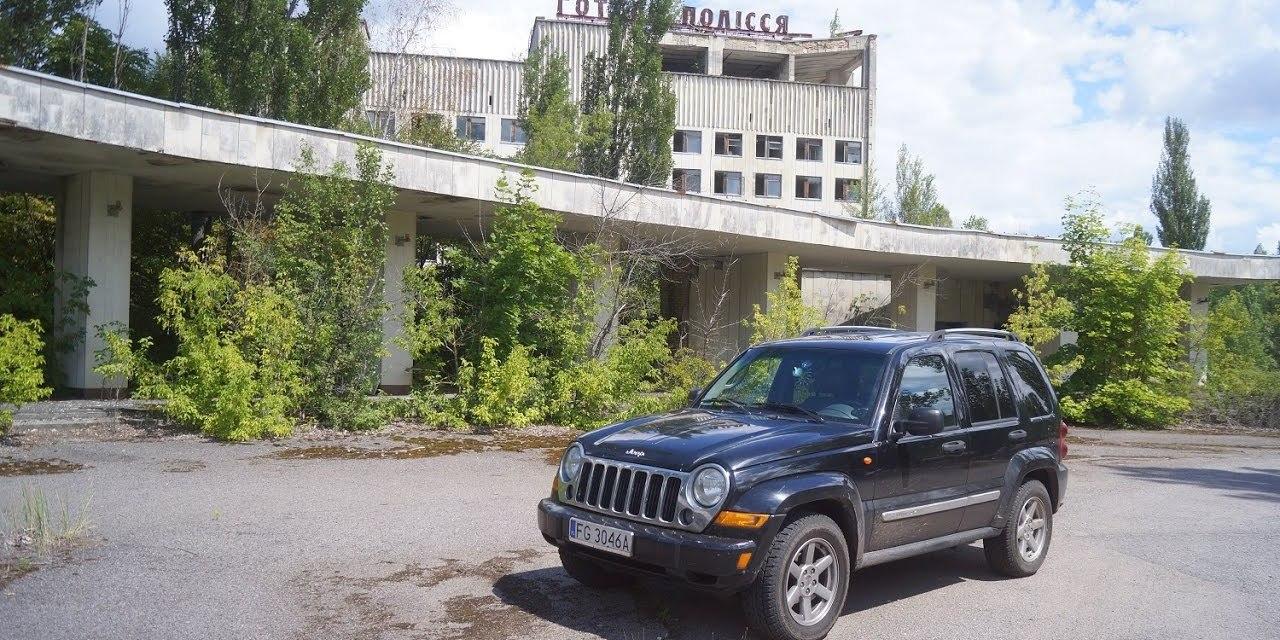 Jeepem w Czarnobylu – VIDEO