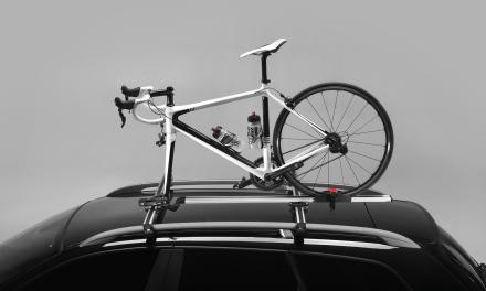 Bagażnik dachowy do przewozu roweru terenówką