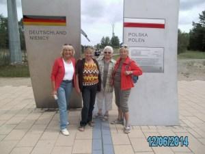 Wandergruppe des TUS Bodenteich auf Usedom 3