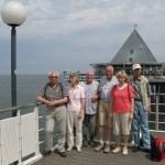 Wandergruppe des TUS Bodenteich auf Usedom 6