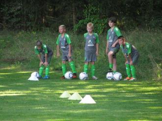 Kombiniertes Trainings- und Torwartcamp mit dem Partner VfL Wolfsburg kam sehr gut an 12