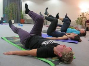 Pilatesgruppe
