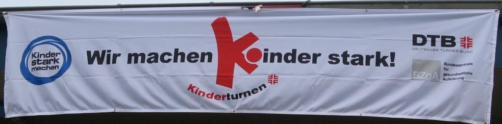 Kinder hatten viel Spaß beim Tag des Kinderturnens