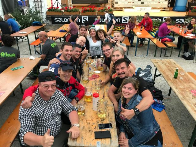 Team des TuS Kaan-Marienborn beim SALOMON ZUGSPITZ ULTRTRAIL 2019
