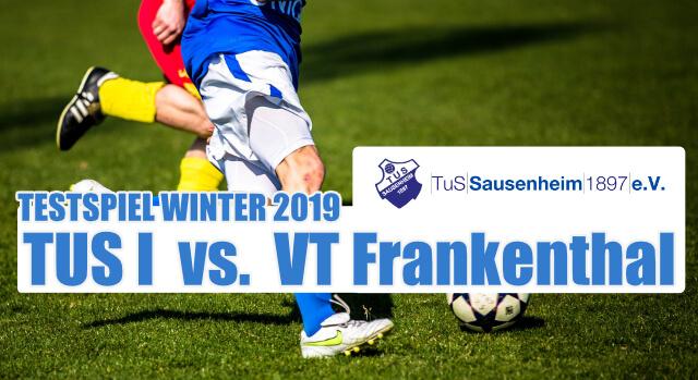 TUS I vs. VT Frankenthal