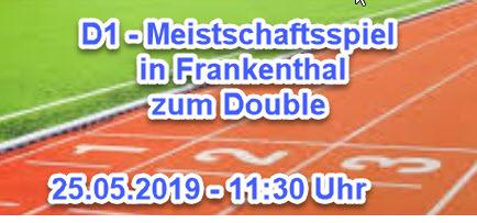 D1 Auswärts vs Frankenthal