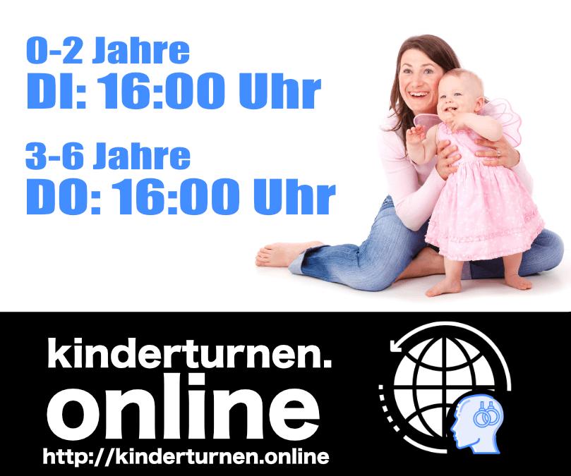 Online Angebot: Kinderturnen.online