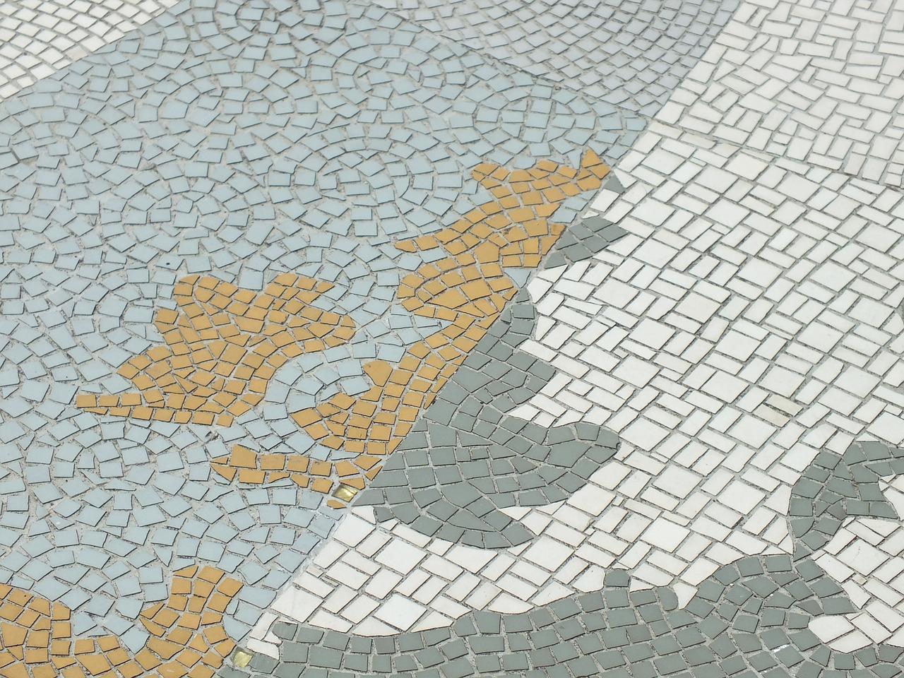 a mosaic of the United Kingdom