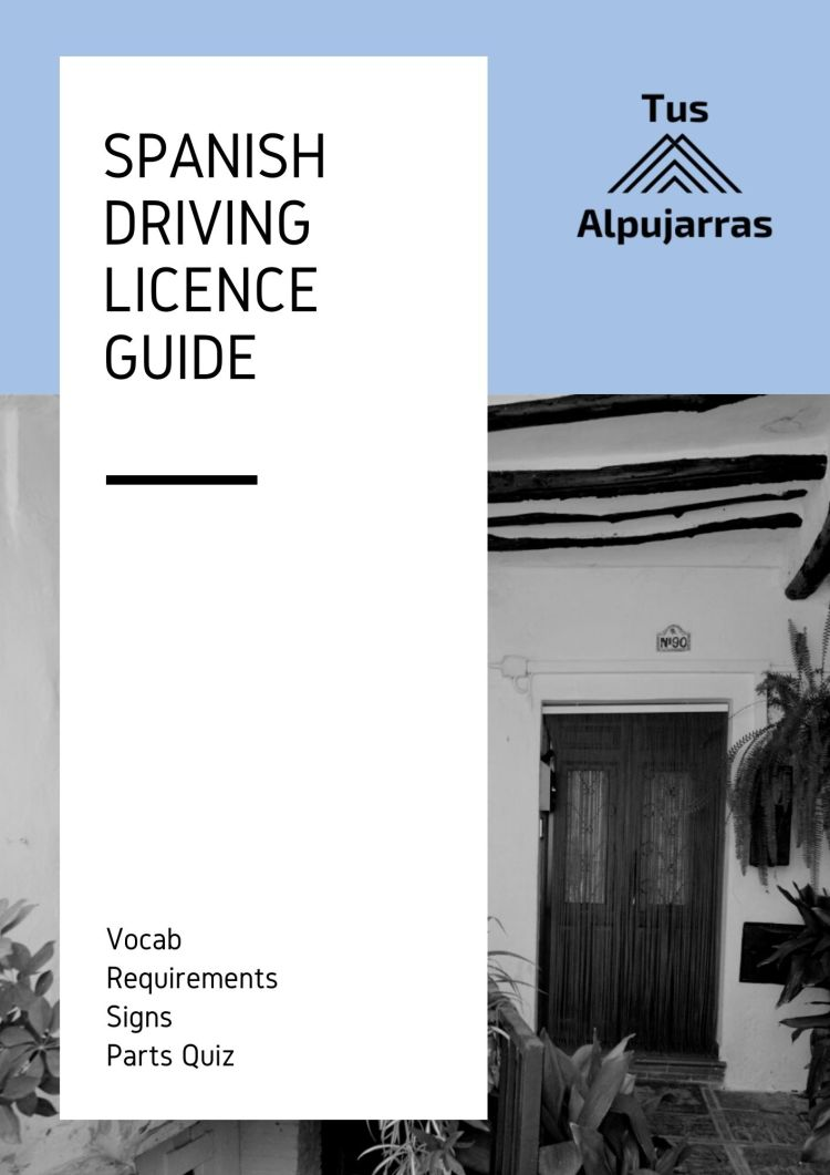 Spanish Driving Licence Guide