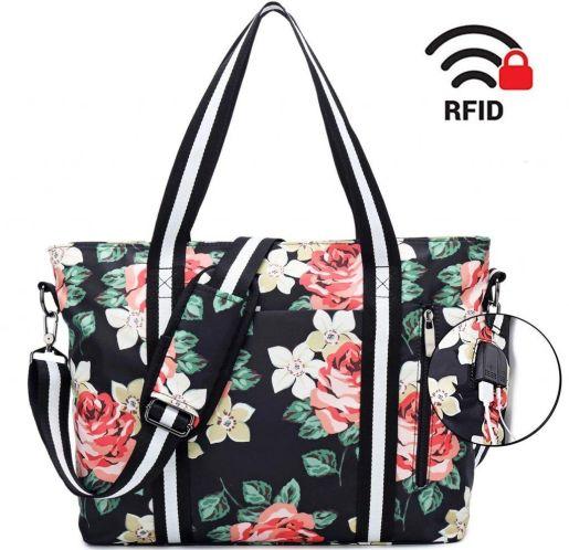 Bolsos y Mochilas de Mujer con USB | Bolsos con motivos florales