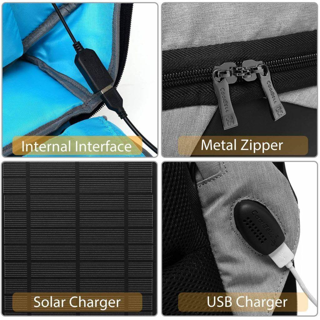 complementos de la mochila solar