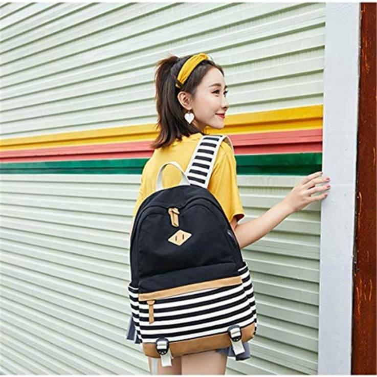 Bolsos y Mochilas de Mujer con USB | Mochila de Mujer con Puerto de Carga USB 22
