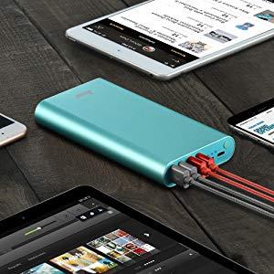 Batería Externa BONAI ≫ 23800mAh. Salida 4 USB ⚡ para Móviles