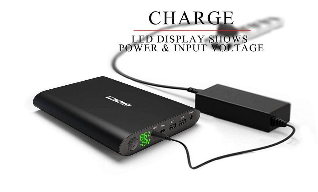 Mochilas para Ordenadores Portátiles con USB Power Bank LIYIONITE TANKER 50000mAh Externa (3)