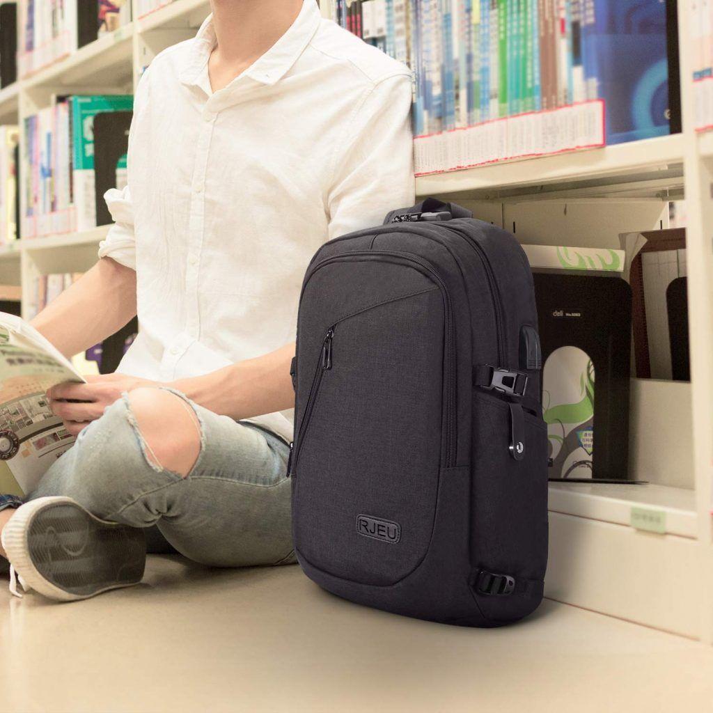 Mochilas Escolares Baratas con USB | Mochila Escolar Antirrobo para Portátil RJEU