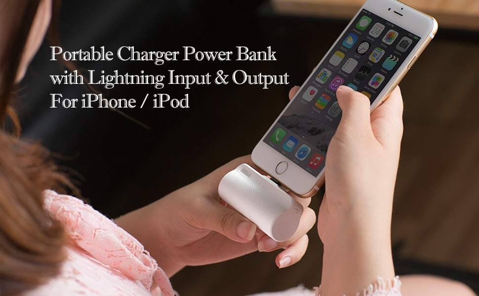 Batería Externa 3300mAh | Power Bank Ultra Ligera – iWALK