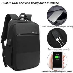 Mochila con Puerto USB y Conector para Auriculares XQXA 2
