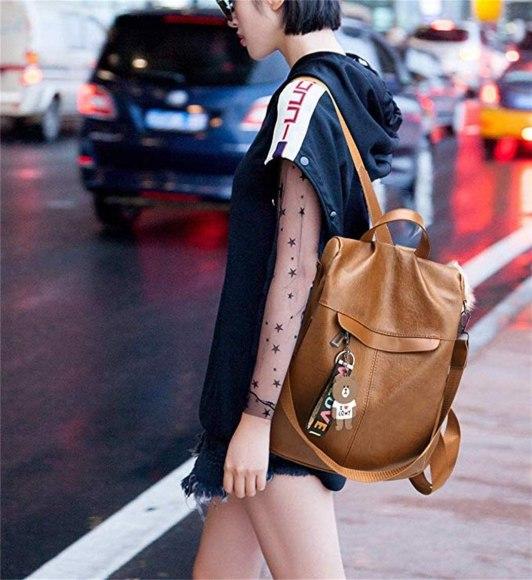 mochilas antirrobo mujer