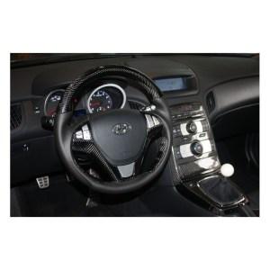 Carbon Fiber Steering Wheel genesis coupe