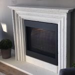 Beautiful Antique Texture Cast Limestone Fireplace By Tuscan Stoneworx Edmonton & Calgary