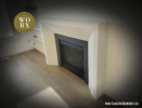 Modern Stone Fireplace Design by Tuscan Stoneworx Edmonton & Calgary Alberta