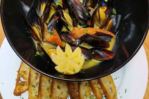 Tuscany Grill Mussels