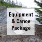 BWCA Camping Equipment and Canoe Rental Package