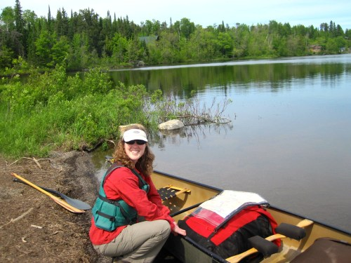 Beginning of a Boundary Waters trip