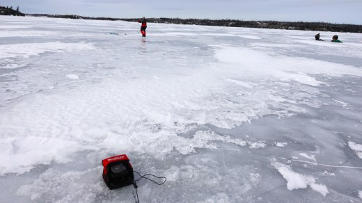 Ice fishing recommendations for kids on the Gunflint Trail