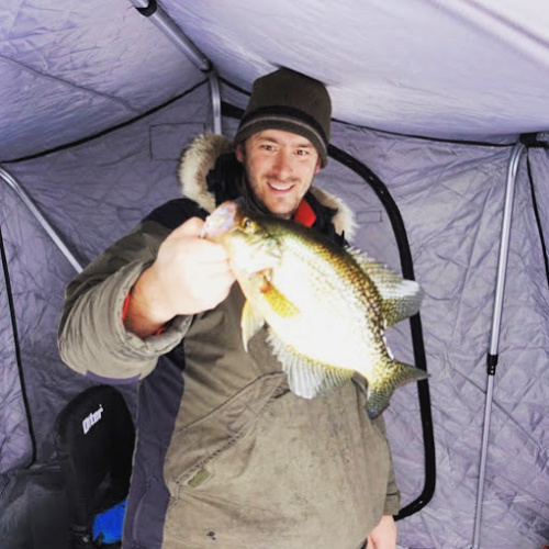 Crappie fishing in the eastern Boundary Waters off the Gunflint Trail