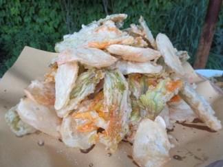 Frasigt friterade grönsaker