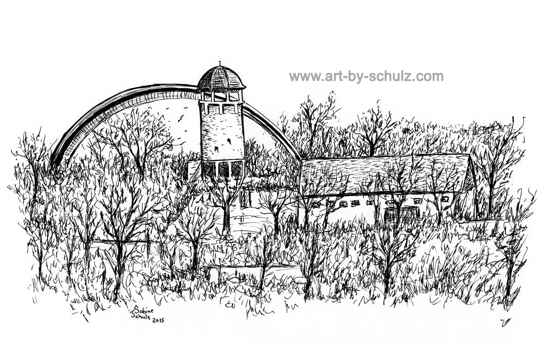 Zoo, Halle (Saale), Tusche, Tusche Verlag, Sabine Schulz