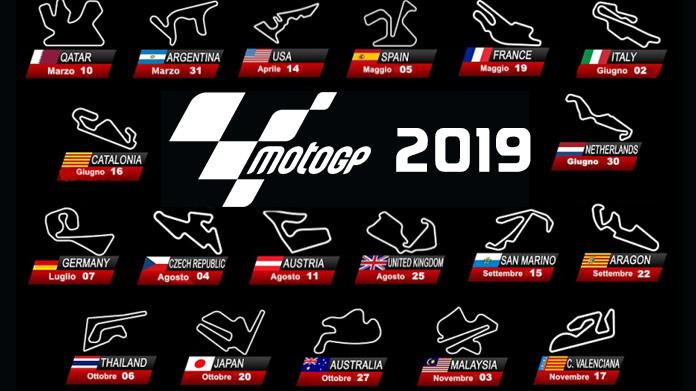 Moto Gp Calendario.Motogp Svelate Le Date Del Calendario 2019 Tusciamotori