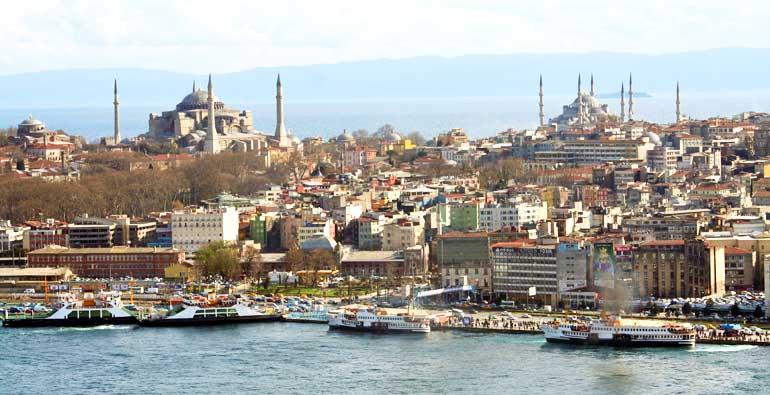 Vista de Estambul desde la Torre Galata