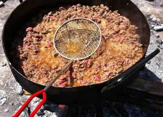 Picadillo de empanada mendocina