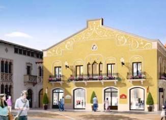 Maqueta del nuevo edificio de La Roca Village