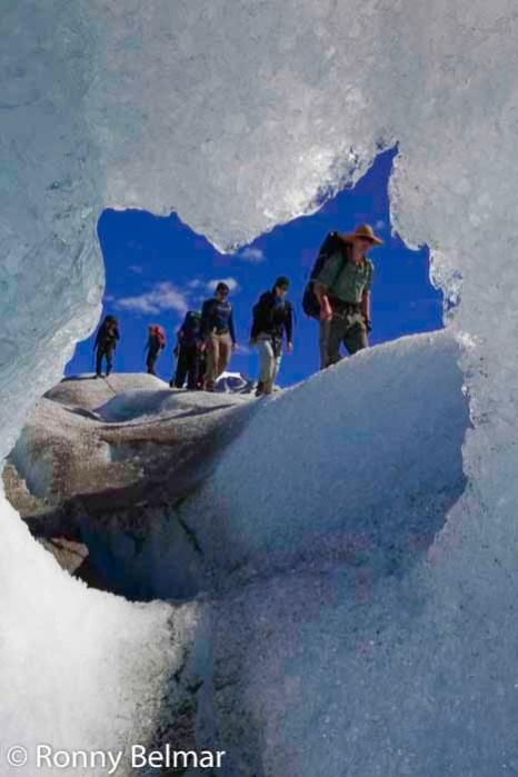 Trekking en el glaciar Neff
