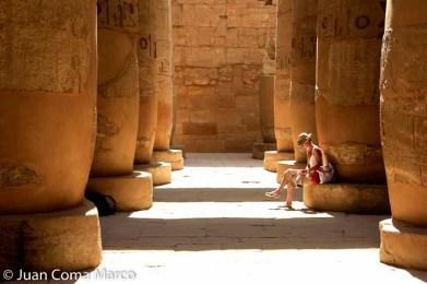 Sala hipóstila del templo de Karnak