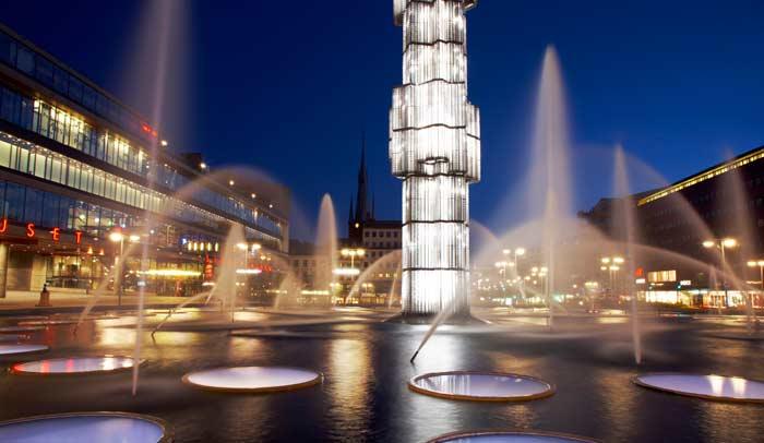 Plaza Segel. Autor Ola Ericson.