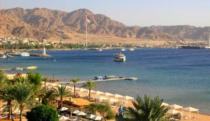 Aqaba, en Jordania