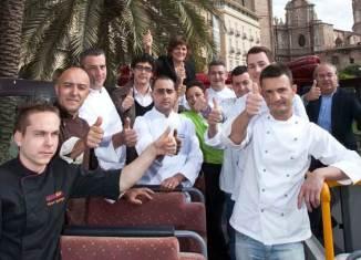 Cocineros participantes de Valencia Cuina Oberta