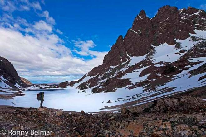 En el Paso los Dientes, con buen tiempo es posible ver el Cabo de Hornos, el punto más austral del globo.