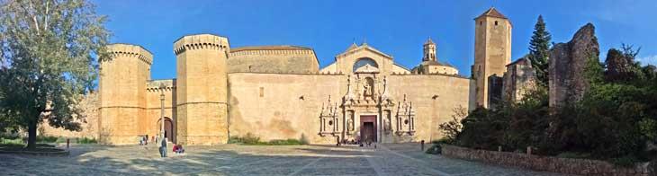 Panorámica Monasterio de Poblet