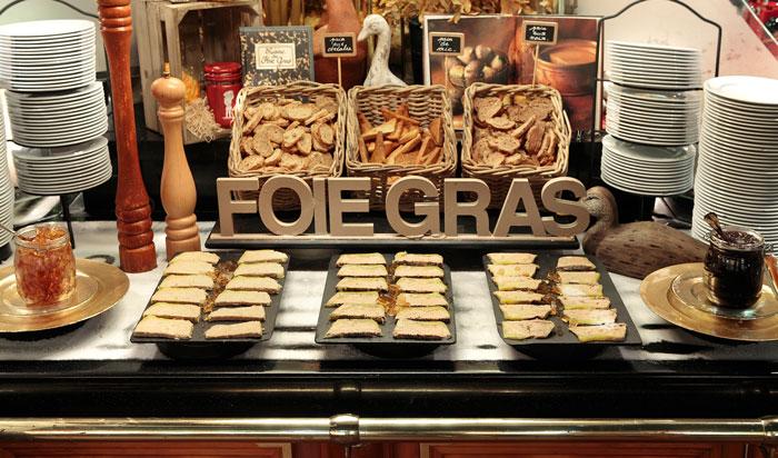Buffet de Foie Gras en Les Grands Buffets