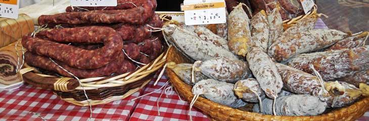 Embutidos típicos de La Lozère